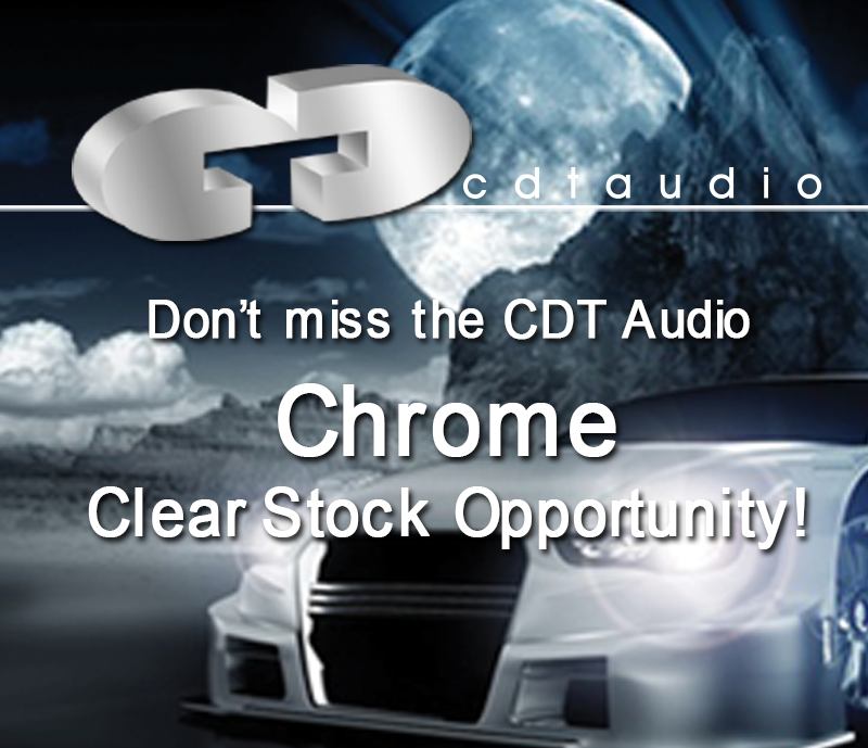 Clear stock discounts on Chrome Models