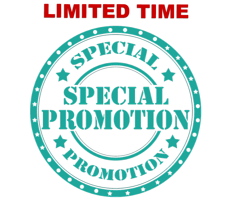 Limited Time Special Promo