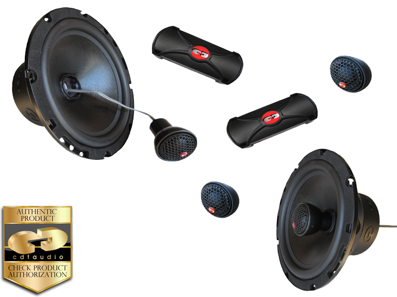 CDT Audio Cl-61cv 6.5 Convertible Coaxial Component Speaker System